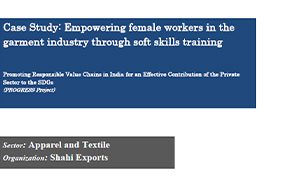 Empowering female workers in the garment industry through soft skills training