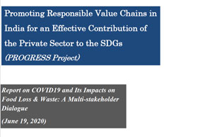 COVID19 & its impacts on Food Loss & Waste_Report 2020