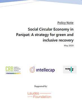 Social Circular Economy in Panipat: A strategy for green and inclusive recovery