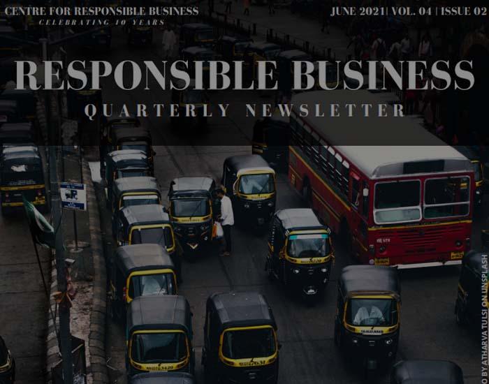 NewsletterResponsible Business | June 2021 | Vol. 04 | Issue 02